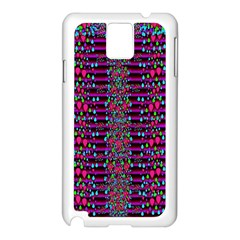 Raining Rain And Mermaid Shells Pop Art Samsung Galaxy Note 3 N9005 Case (white) by pepitasart