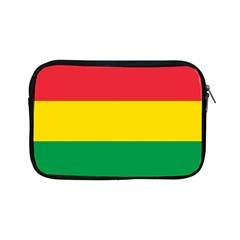 Rasta Colors Red Yellow Gld Green Stripes Pattern Ethiopia Apple Ipad Mini Zipper Cases by yoursparklingshop