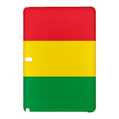 Rasta Colors Red Yellow Gld Green Stripes Pattern Ethiopia Samsung Galaxy Tab Pro 10 1 Hardshell Case by yoursparklingshop