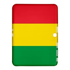 Rasta Colors Red Yellow Gld Green Stripes Pattern Ethiopia Samsung Galaxy Tab 4 (10 1 ) Hardshell Case  by yoursparklingshop