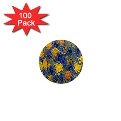 Floral Pattern Background 1  Mini Magnets (100 Pack)  by Simbadda