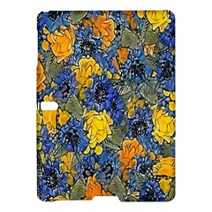 Floral Pattern Background Samsung Galaxy Tab S (10 5 ) Hardshell Case  by Simbadda