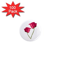 Red Roses Photo 1  Mini Magnets (100 Pack)  by dflcprints