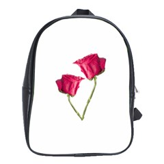 Red Roses Photo School Bags (xl)  by dflcprints