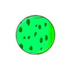 Alien Spon Green Hat Clip Ball Marker (10 Pack) by Alisyart