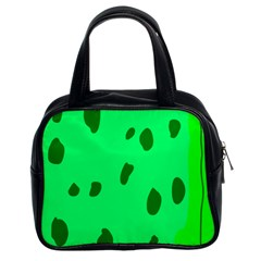 Alien Spon Green Classic Handbags (2 Sides)