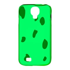 Alien Spon Green Samsung Galaxy S4 Classic Hardshell Case (pc+silicone) by Alisyart