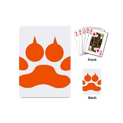 Bear Paw Playing Cards (mini)  by Alisyart
