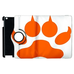 Bear Paw Apple Ipad 3/4 Flip 360 Case by Alisyart