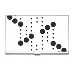 Black Circle Business Card Holders by Alisyart