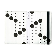 Black Circle Apple Ipad Mini Flip Case by Alisyart
