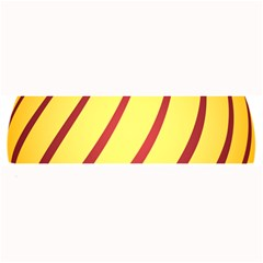 Yellow Striped Easter Egg Gold Large Bar Mats