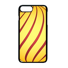 Yellow Striped Easter Egg Gold Apple Iphone 7 Plus Seamless Case (black)