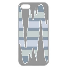 Cavegender Pride Flag Stone Grey Line Apple Seamless Iphone 5 Case (clear) by Alisyart