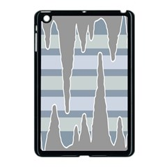 Cavegender Pride Flag Stone Grey Line Apple Ipad Mini Case (black) by Alisyart