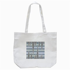 Cavegender Pride Flag Stone Grey Line Tote Bag (white) by Alisyart