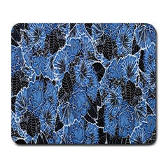 Floral Pattern Background Seamless Large Mousepads