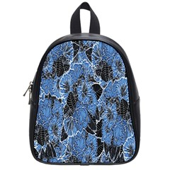 Floral Pattern Background Seamless School Bags (small)  by Simbadda