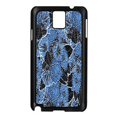 Floral Pattern Background Seamless Samsung Galaxy Note 3 N9005 Case (black)
