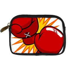 Boxing Gloves Red Orange Sport Digital Camera Cases by Alisyart