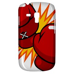 Boxing Gloves Red Orange Sport Galaxy S3 Mini by Alisyart