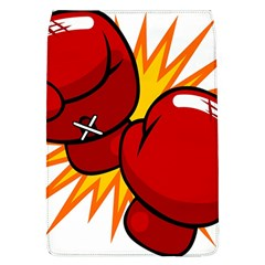 Boxing Gloves Red Orange Sport Flap Covers (l)  by Alisyart