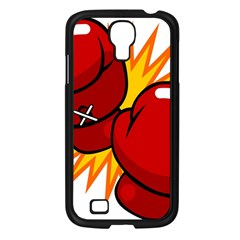 Boxing Gloves Red Orange Sport Samsung Galaxy S4 I9500/ I9505 Case (black) by Alisyart