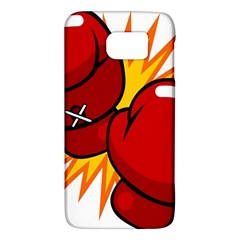 Boxing Gloves Red Orange Sport Galaxy S6 by Alisyart