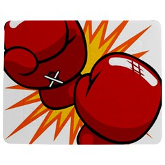 Boxing Gloves Red Orange Sport Jigsaw Puzzle Photo Stand (rectangular) by Alisyart