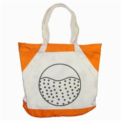 Cool Gel Foam Circle Grey Accent Tote Bag by Alisyart