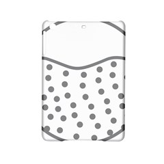 Cool Gel Foam Circle Grey Ipad Mini 2 Hardshell Cases by Alisyart