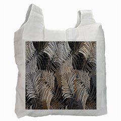 Floral Pattern Background Recycle Bag (one Side) by Simbadda