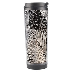 Floral Pattern Background Travel Tumbler by Simbadda