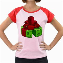 Cheese Green Women s Cap Sleeve T Shirt