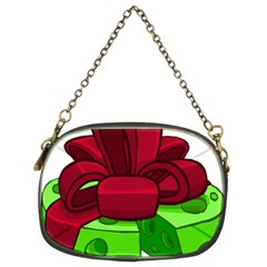 Cheese Green Chain Purses (two Sides)