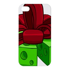 Cheese Green Apple Iphone 4/4s Premium Hardshell Case by Alisyart