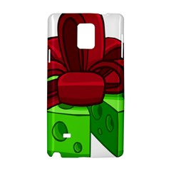 Cheese Green Samsung Galaxy Note 4 Hardshell Case by Alisyart