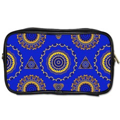 Abstract Mandala Seamless Pattern Toiletries Bags 2 Side by Simbadda