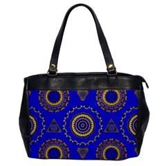 Abstract Mandala Seamless Pattern Office Handbags