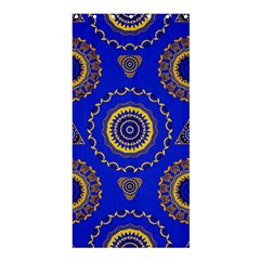 Abstract Mandala Seamless Pattern Shower Curtain 36  X 72  (stall)