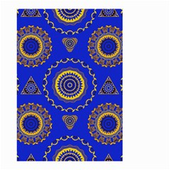 Abstract Mandala Seamless Pattern Small Garden Flag (two Sides) by Simbadda