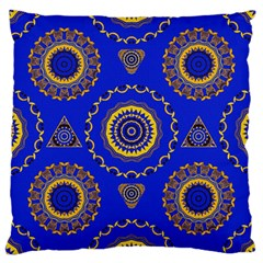 Abstract Mandala Seamless Pattern Large Cushion Case (two Sides)