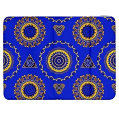 Abstract Mandala Seamless Pattern Samsung Galaxy Tab 7  P1000 Flip Case by Simbadda