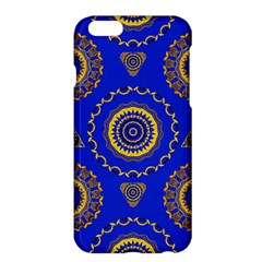 Abstract Mandala Seamless Pattern Apple Iphone 6 Plus/6s Plus Hardshell Case by Simbadda