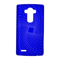 Blue Perspective Grid Distorted Line Plaid Lg G4 Hardshell Case