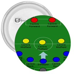 Field Football Positions 3  Buttons by Alisyart