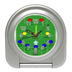 Field Football Positions Travel Alarm Clocks