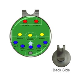 Field Football Positions Hat Clips With Golf Markers by Alisyart