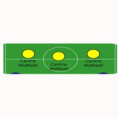 Field Football Positions Large Bar Mats