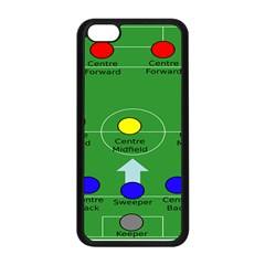 Field Football Positions Apple Iphone 5c Seamless Case (black) by Alisyart